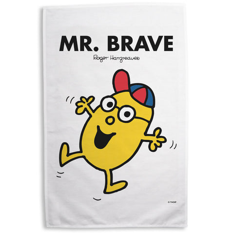 Mr. Brave Tea Towel