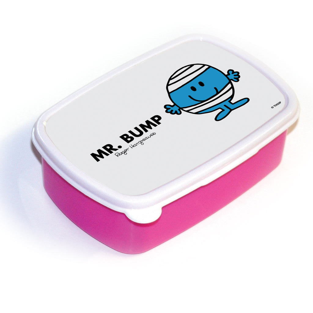 Mr. Bump Lunchbox (Pink)