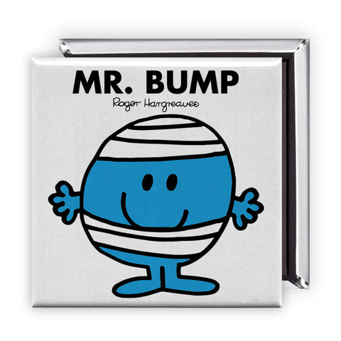 Mr. Bump Square Magnet