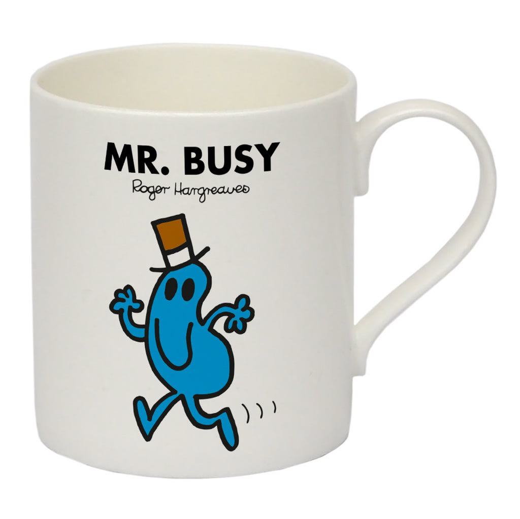 Mr. Busy Bone China Mug
