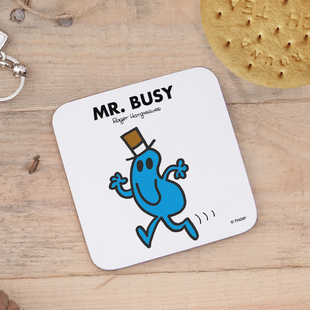 Mr. Busy Cork Coaster (Lifestyle)