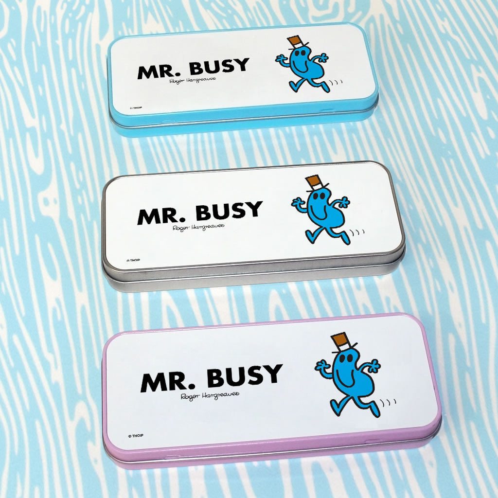 Mr. Busy Pencil Case Tin (Lifestyle)