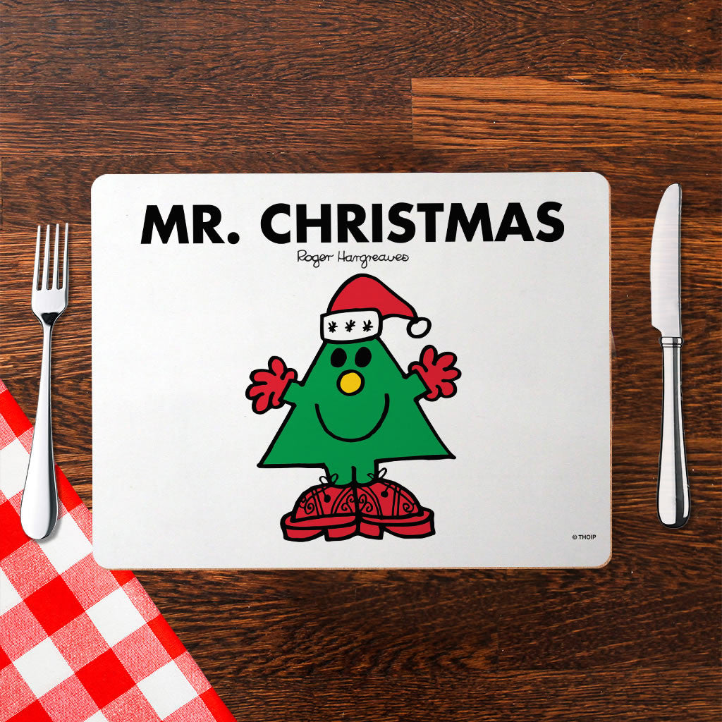 Mr. Christmas Cork Placemat (Lifestyle)