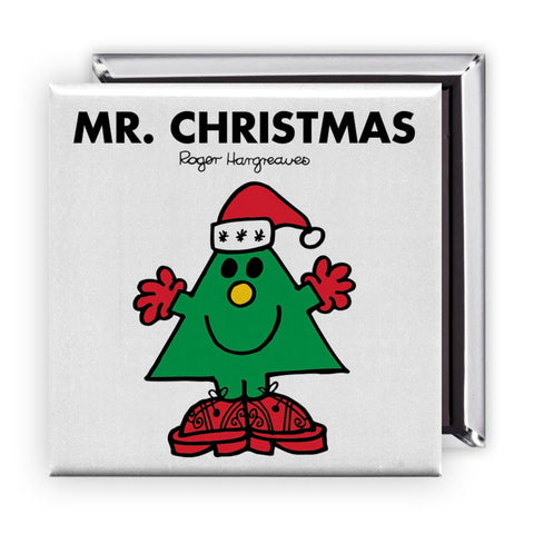 Mr. Christmas Square Magnet