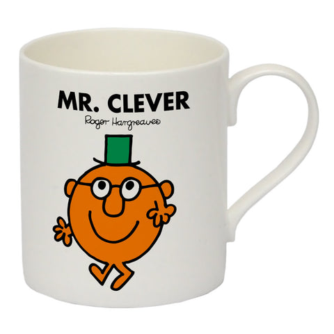 Mr. Clever Bone China Mug