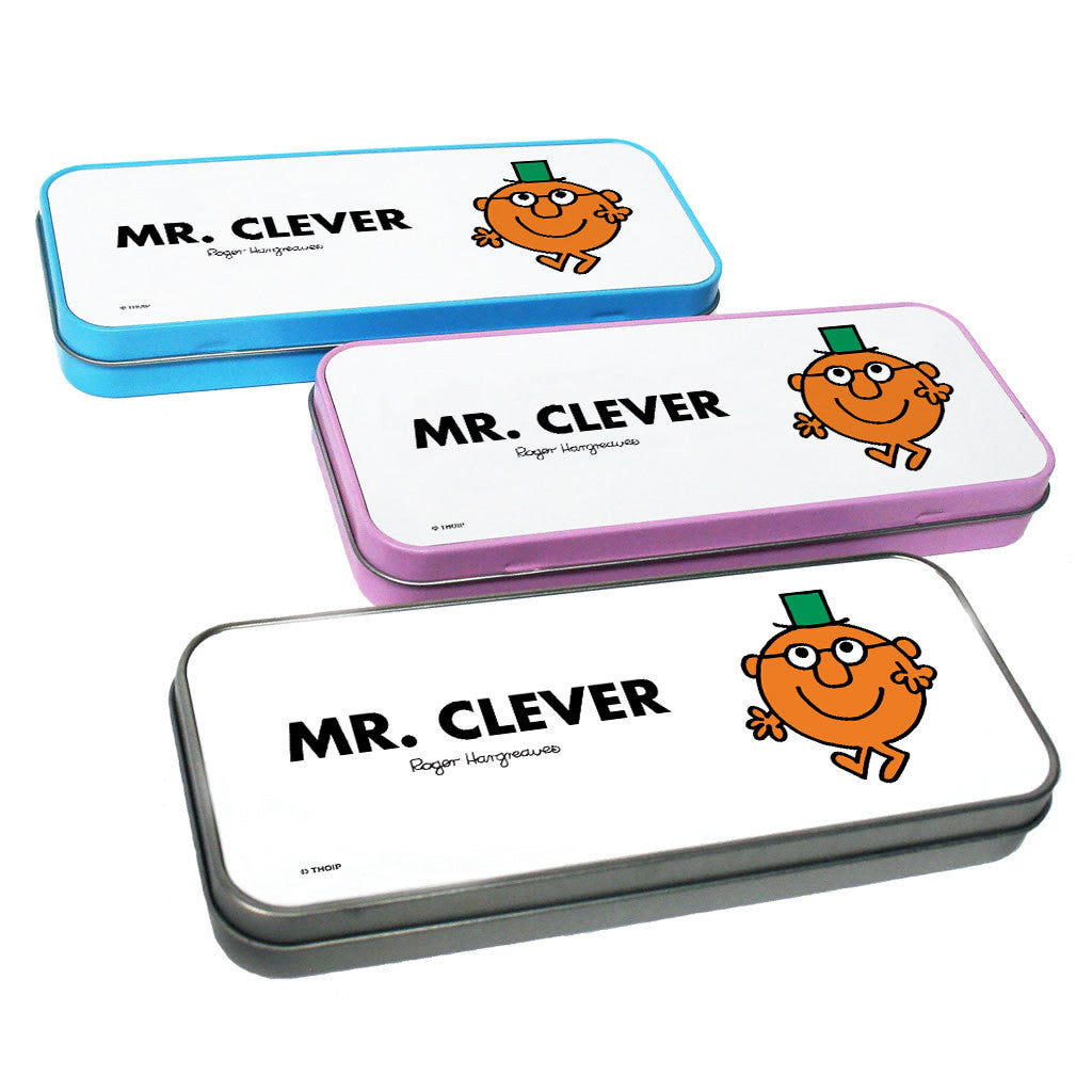 Mr. Clever Pencil Case Tin