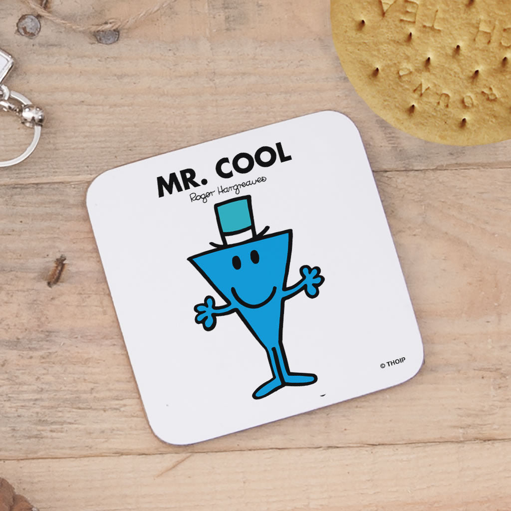 Mr. Cool Cork Coaster (Lifestyle)