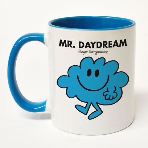 Mr. Daydream Large Porcelain Colour Handle Mug