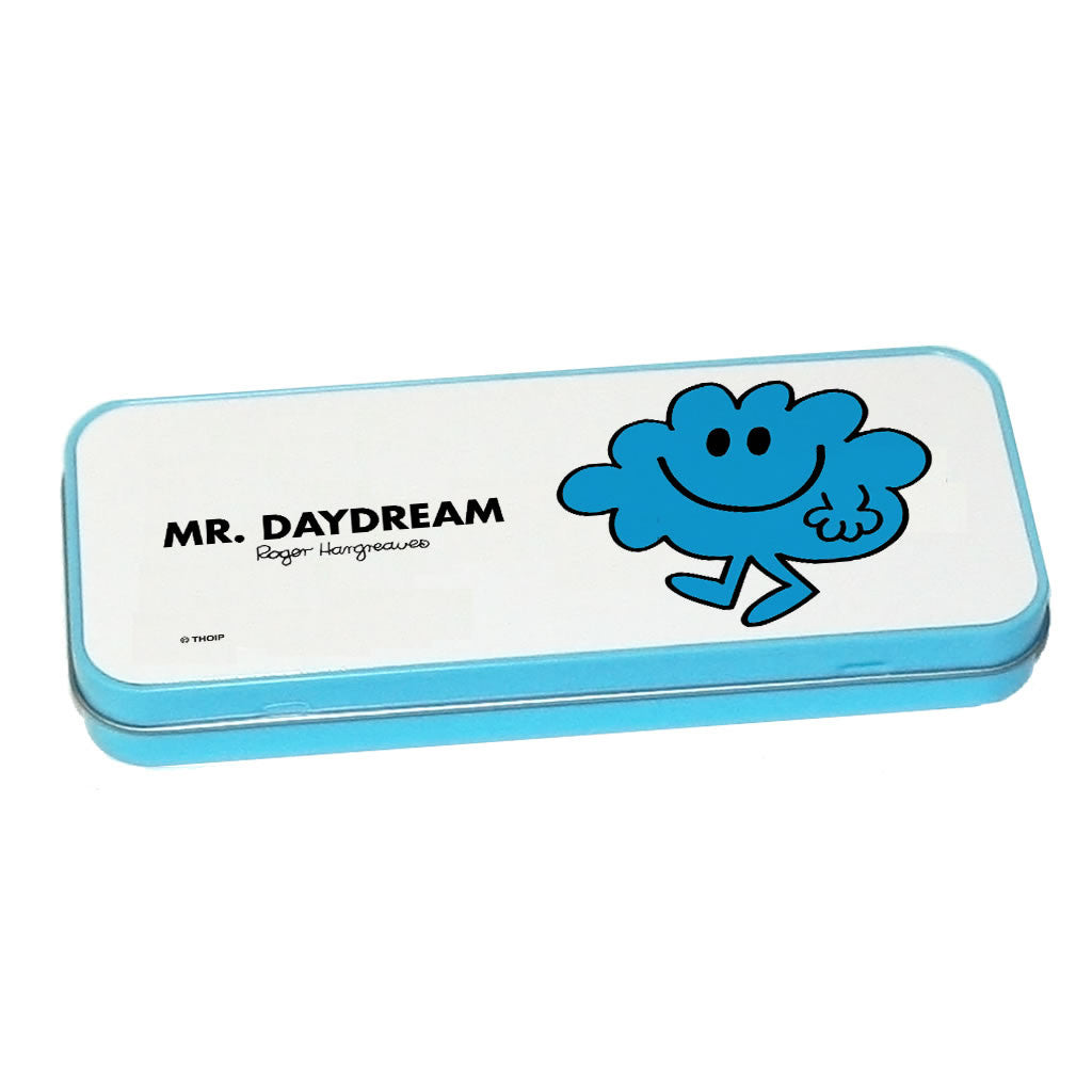 Mr. Daydream Pencil Case Tin (Blue)