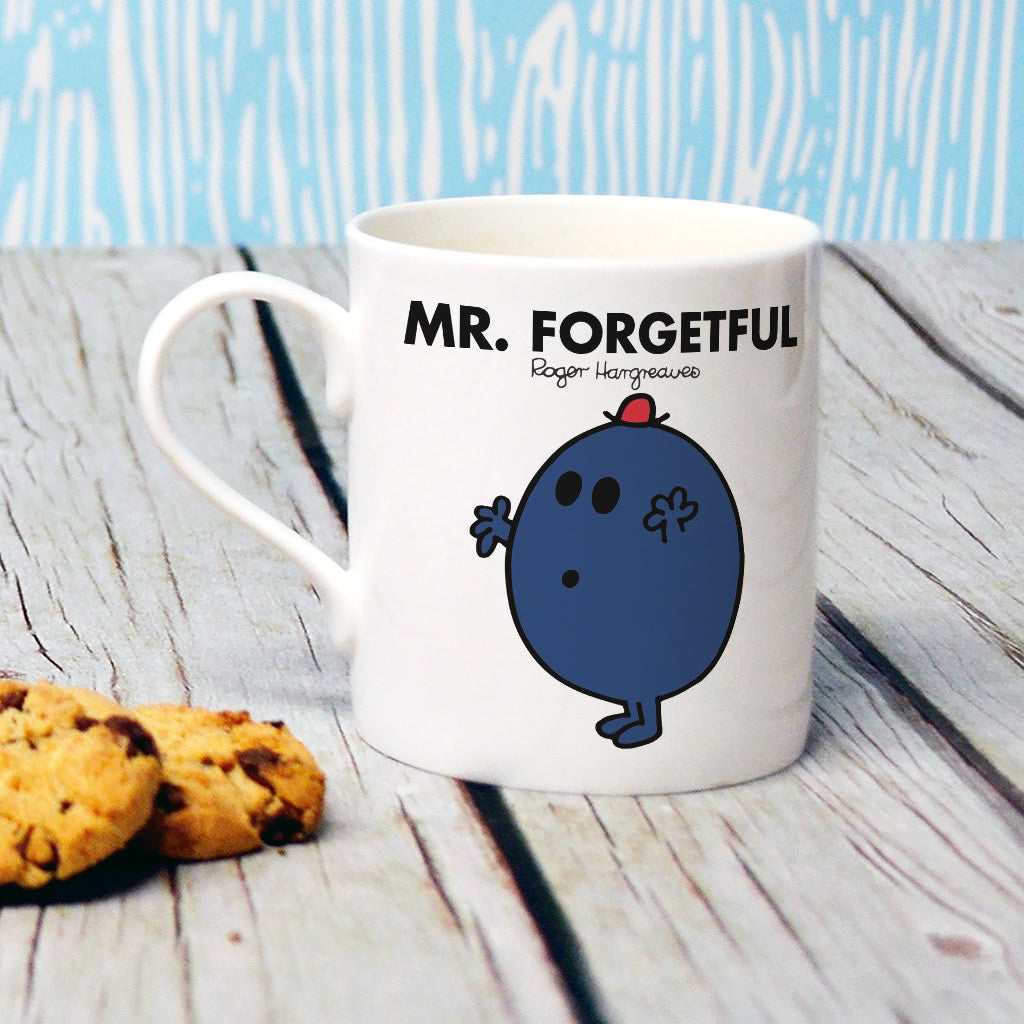 Mr. Forgetful Bone China Mug (Lifestyle)