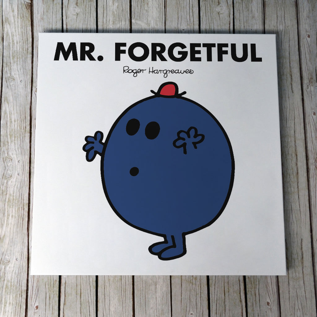 Mr. Forgetful Canvas (Lifestyle)
