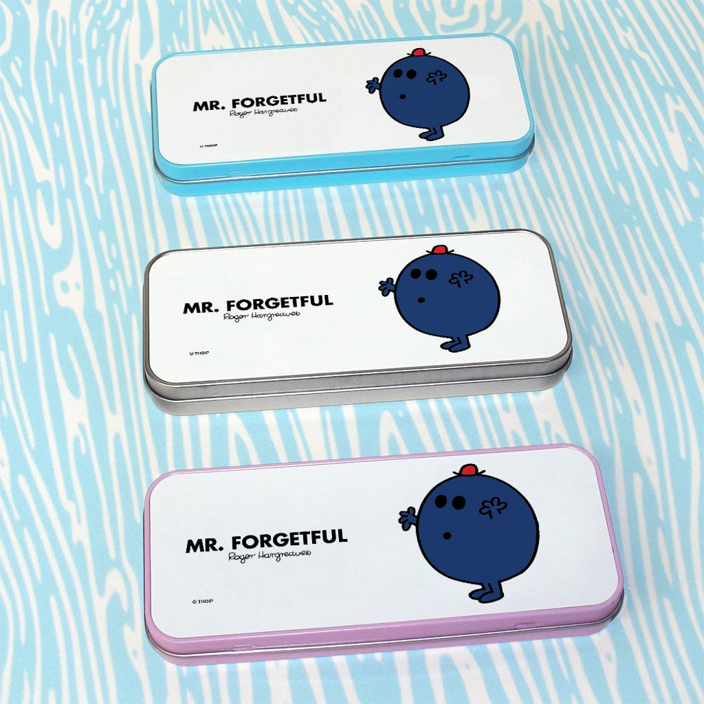 Mr. Forgetful Pencil Case Tin (Lifestyle)