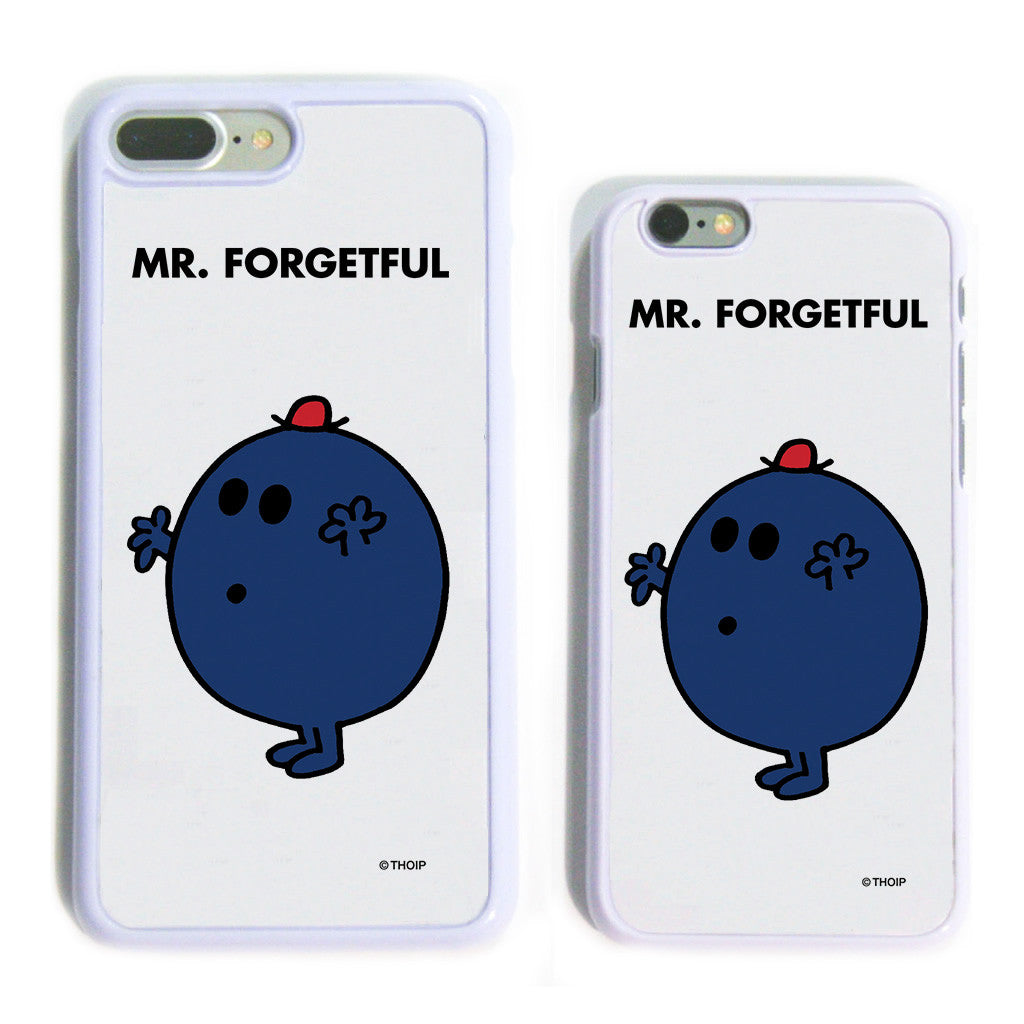 Mr. Forgetful White Phone Case