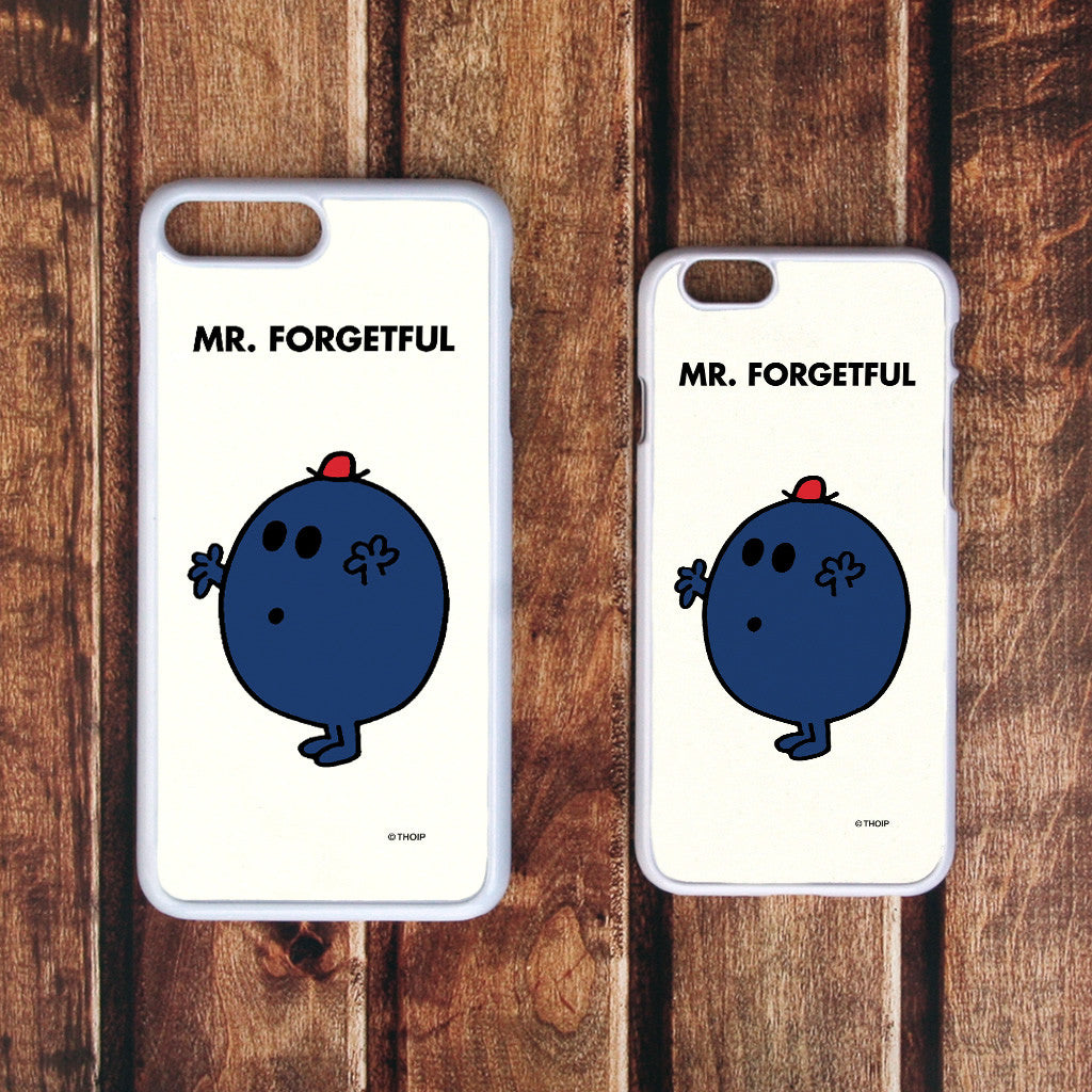 Mr. Forgetful White Phone Case (Lifestyle)