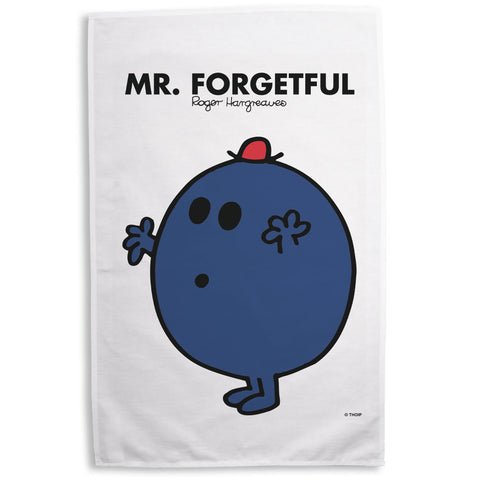 Mr. Forgetful Tea Towel