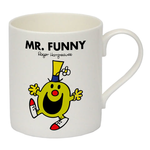 Mr. Funny Bone China Mug