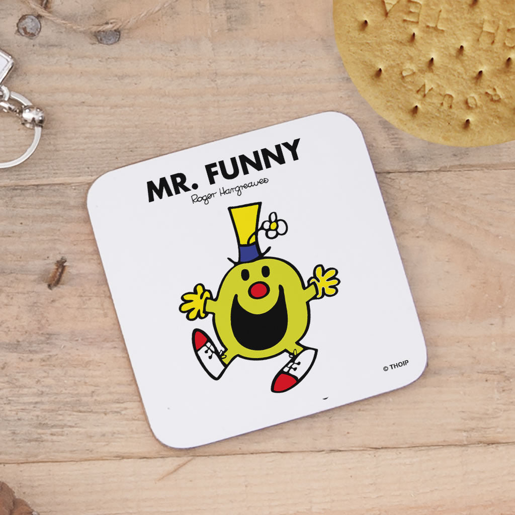 Mr. Funny Cork Coaster (Lifestyle)
