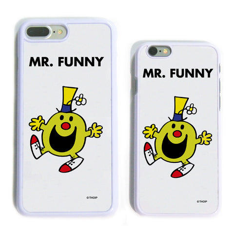 Mr. Funny White Phone Case