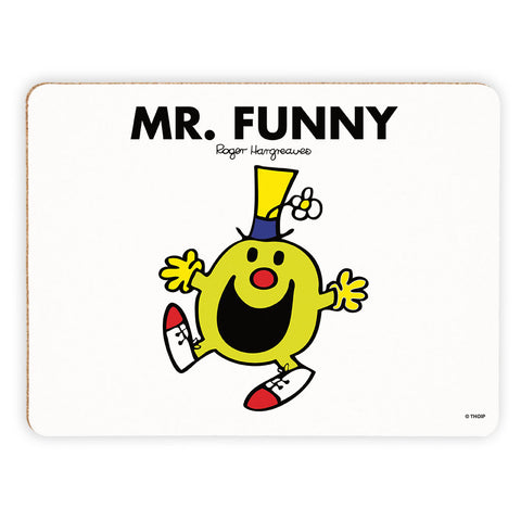 Mr. Funny Cork Placemat