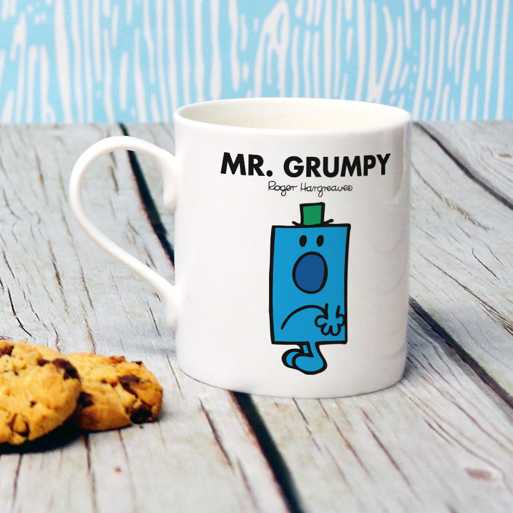 Mr. Grumpy Bone China Mug (Lifestyle)