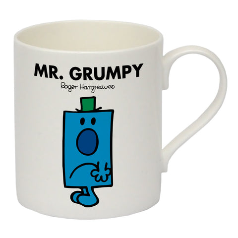 Mr. Grumpy Bone China Mug