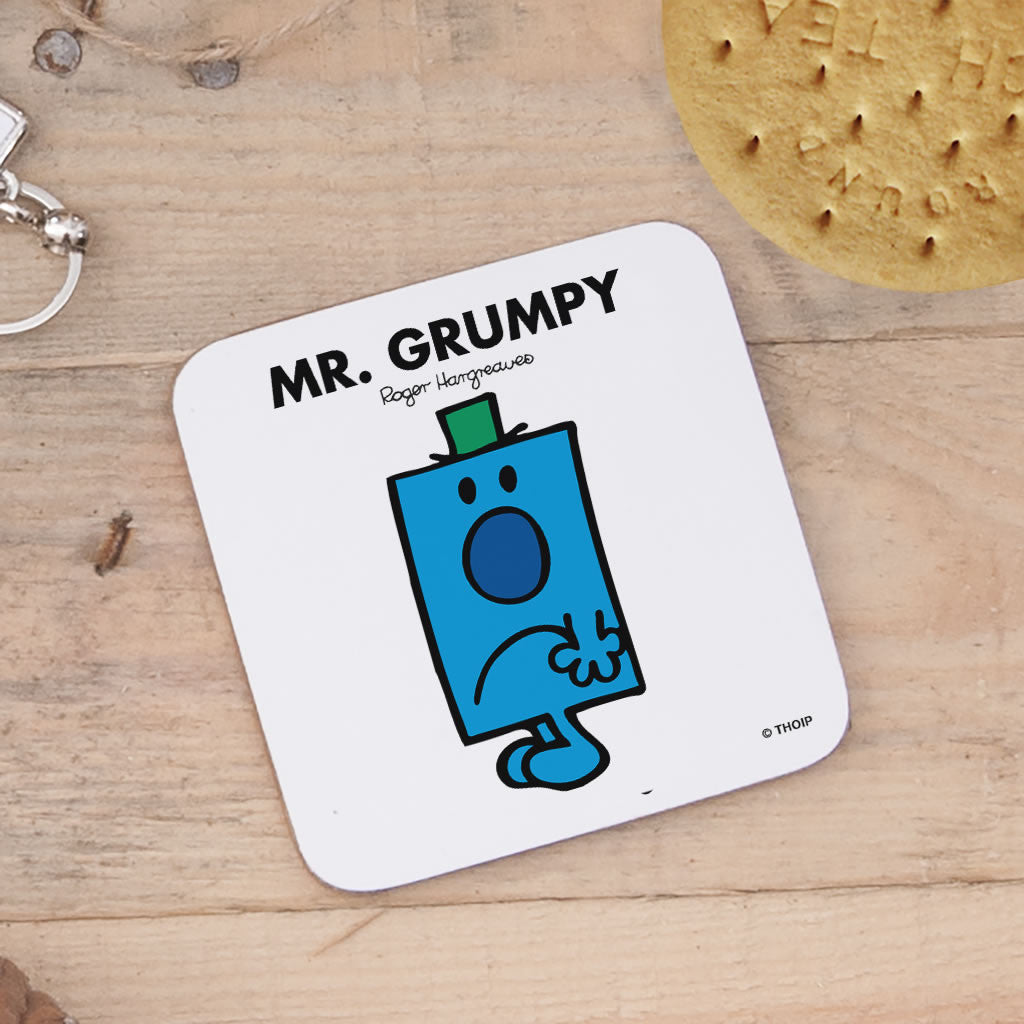 Mr. Grumpy Cork Coaster (Lifestyle)