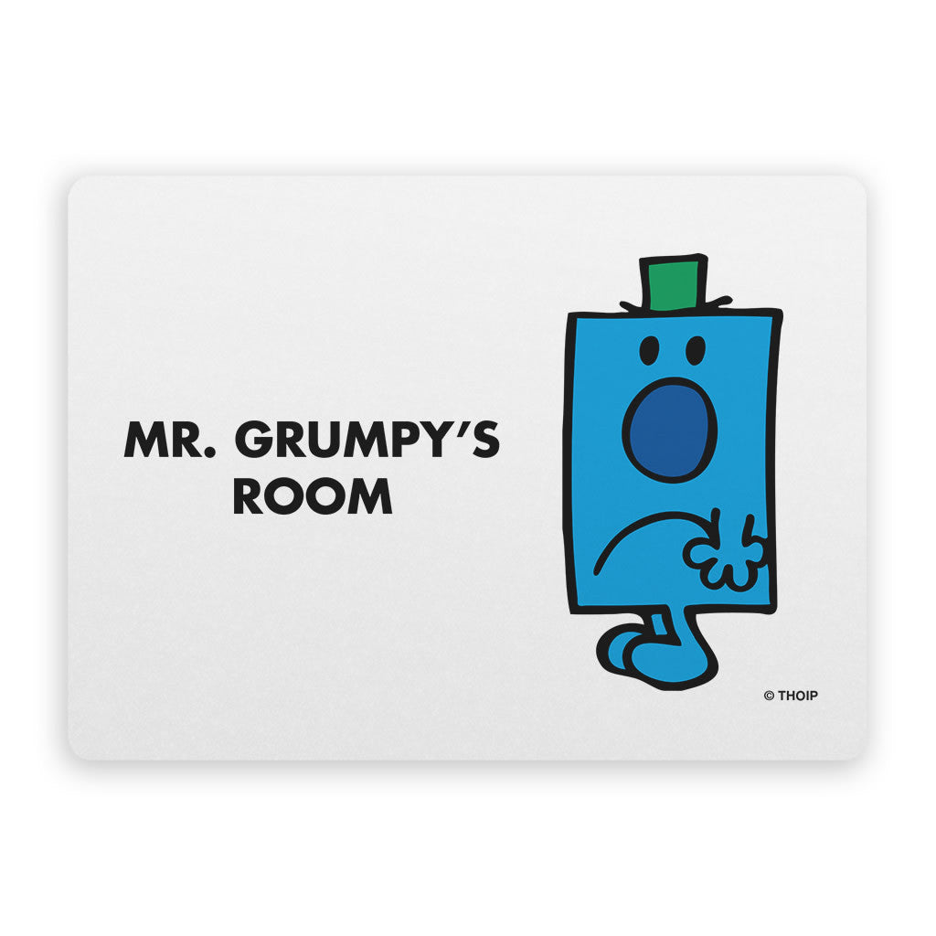 Mr. Grumpy Door Plaque