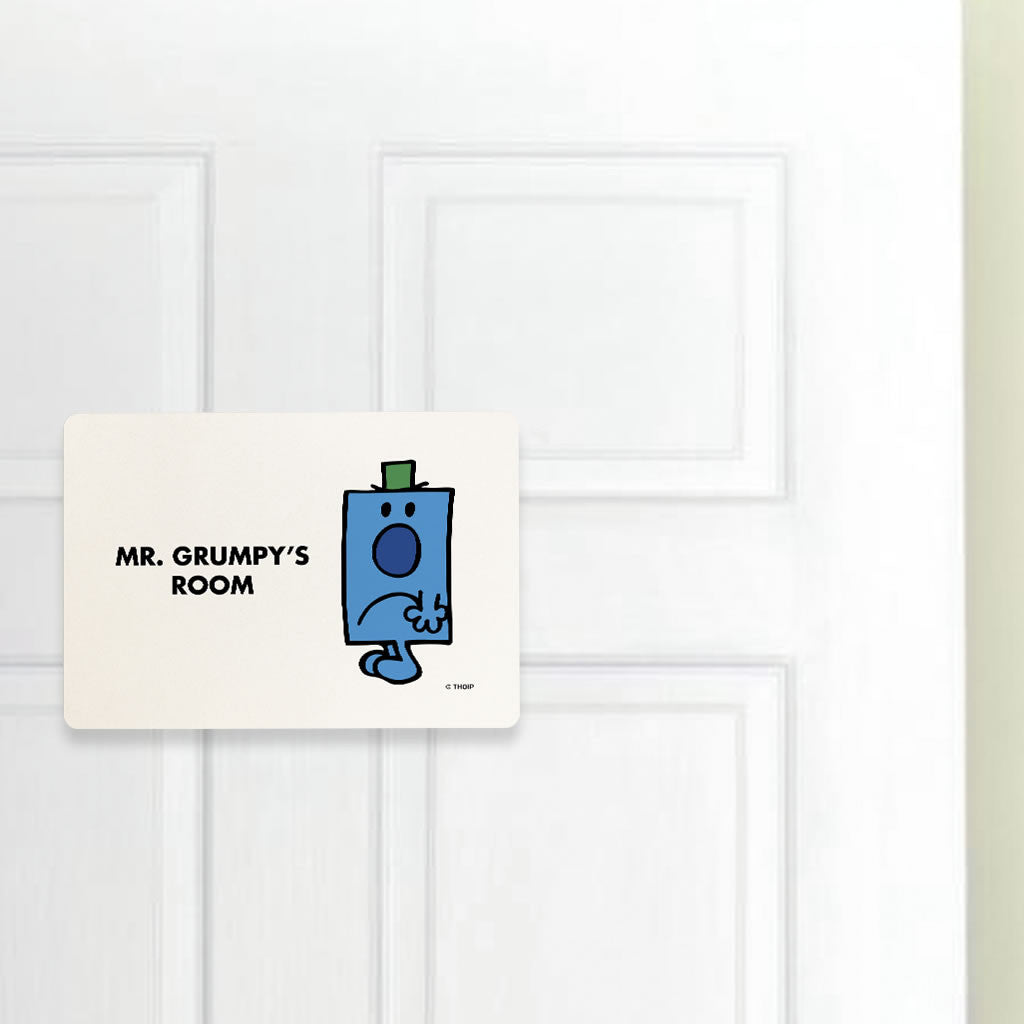 Mr. Grumpy Door Plaque (Lifestyle)