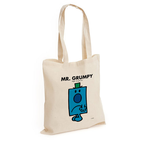Mr. Grumpy Long Handled Tote Bag