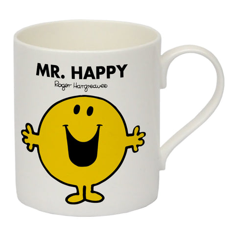 Mr. Happy Bone China Mug