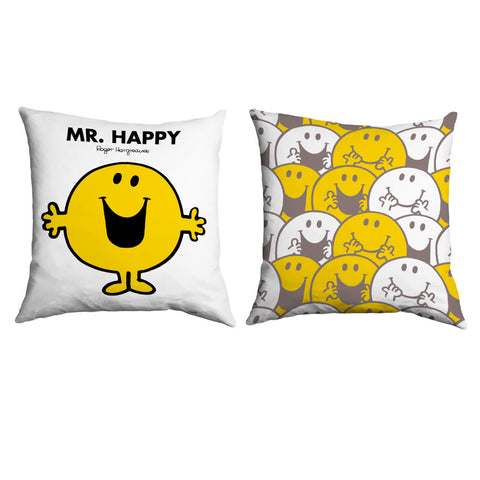 Mr. Happy Micro Fibre Cushion