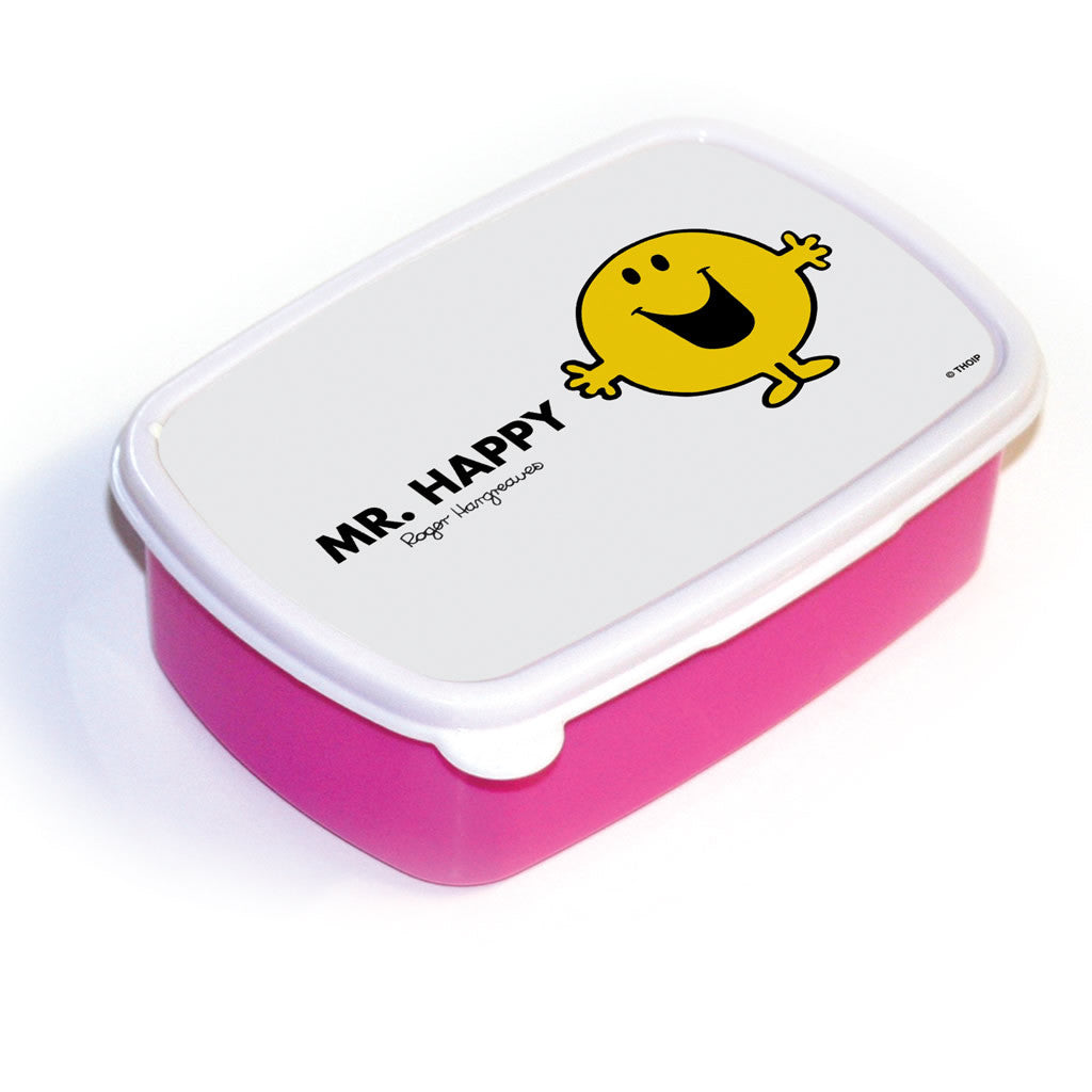 Mr. Happy Lunchbox (Pink)