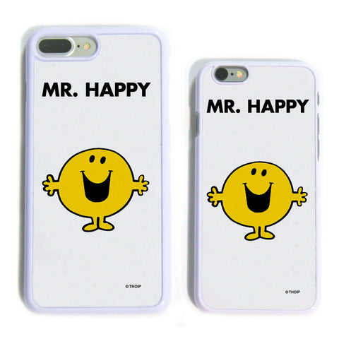 Mr. Happy White Phone Case
