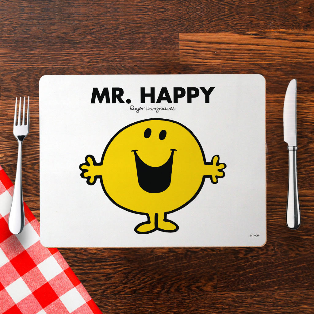 Mr. Happy Cork Placemat (Lifestyle)