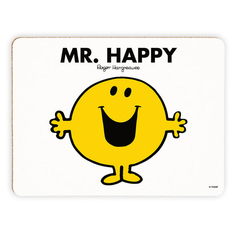 Mr. Happy Cork Placemat