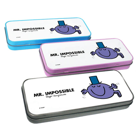 Mr. Impossible Pencil Case Tin