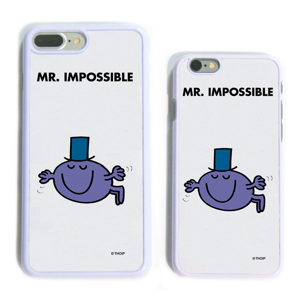 Mr. Impossible White Phone Case