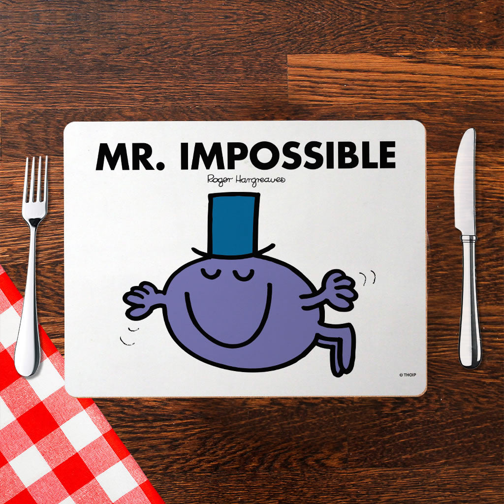 Mr. Impossible Cork Placemat (Lifestyle)