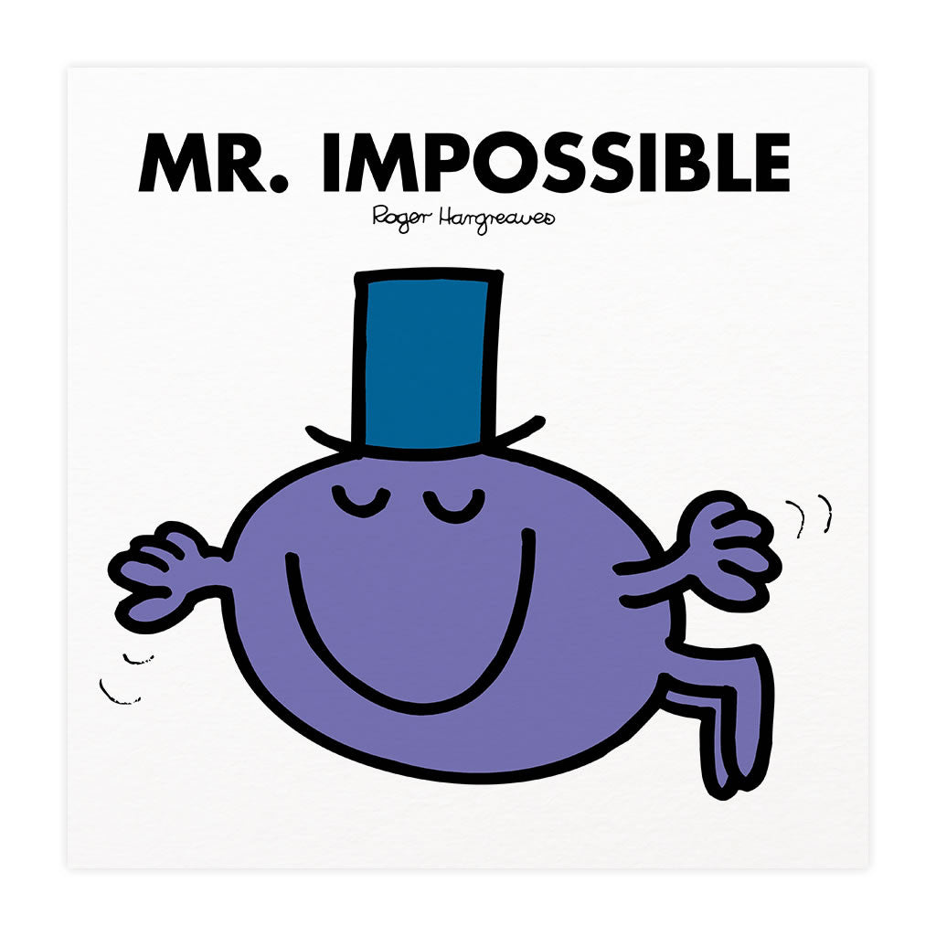 Mr. Impossible Mounted Art Print
