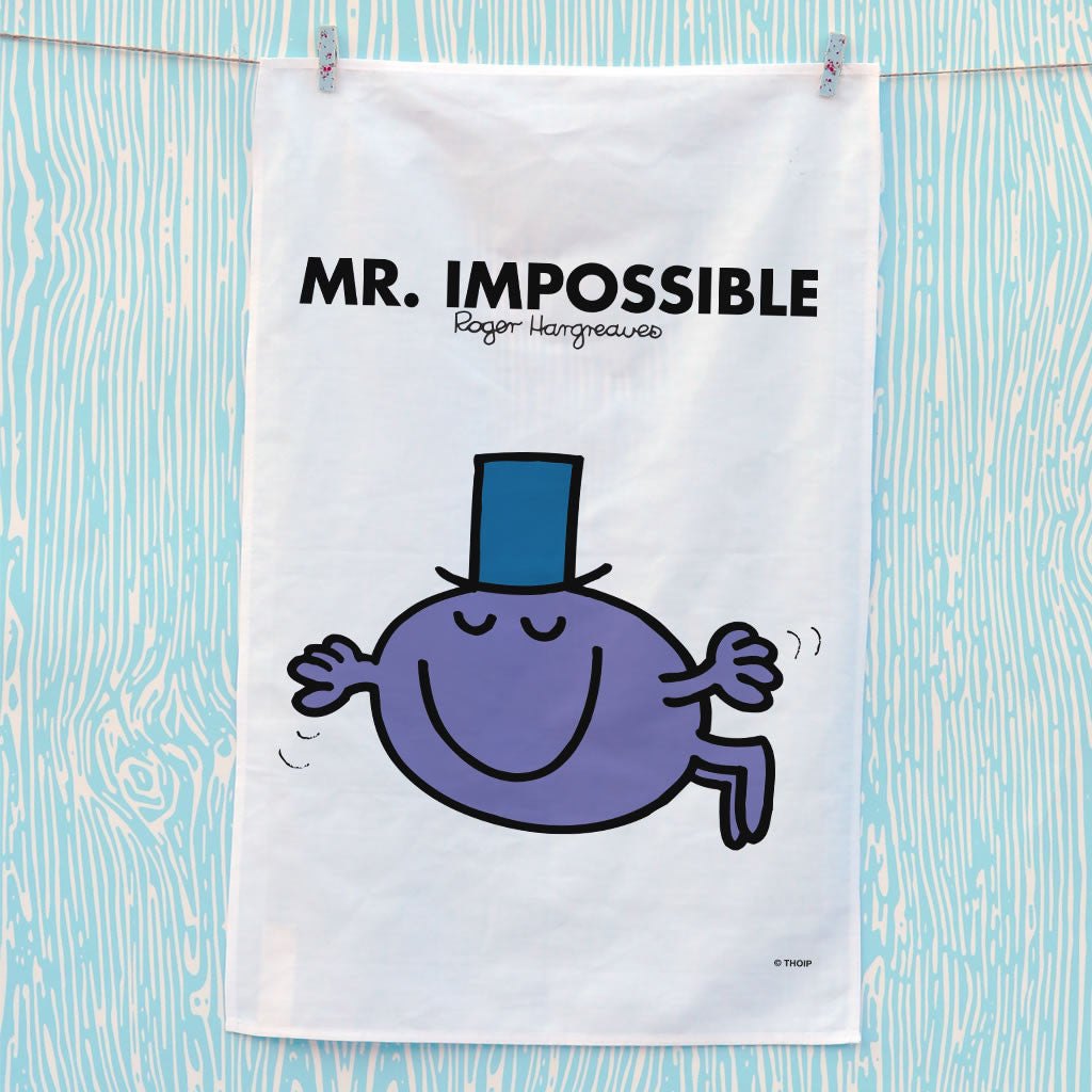 Mr. Impossible Tea Towel (Lifestyle)