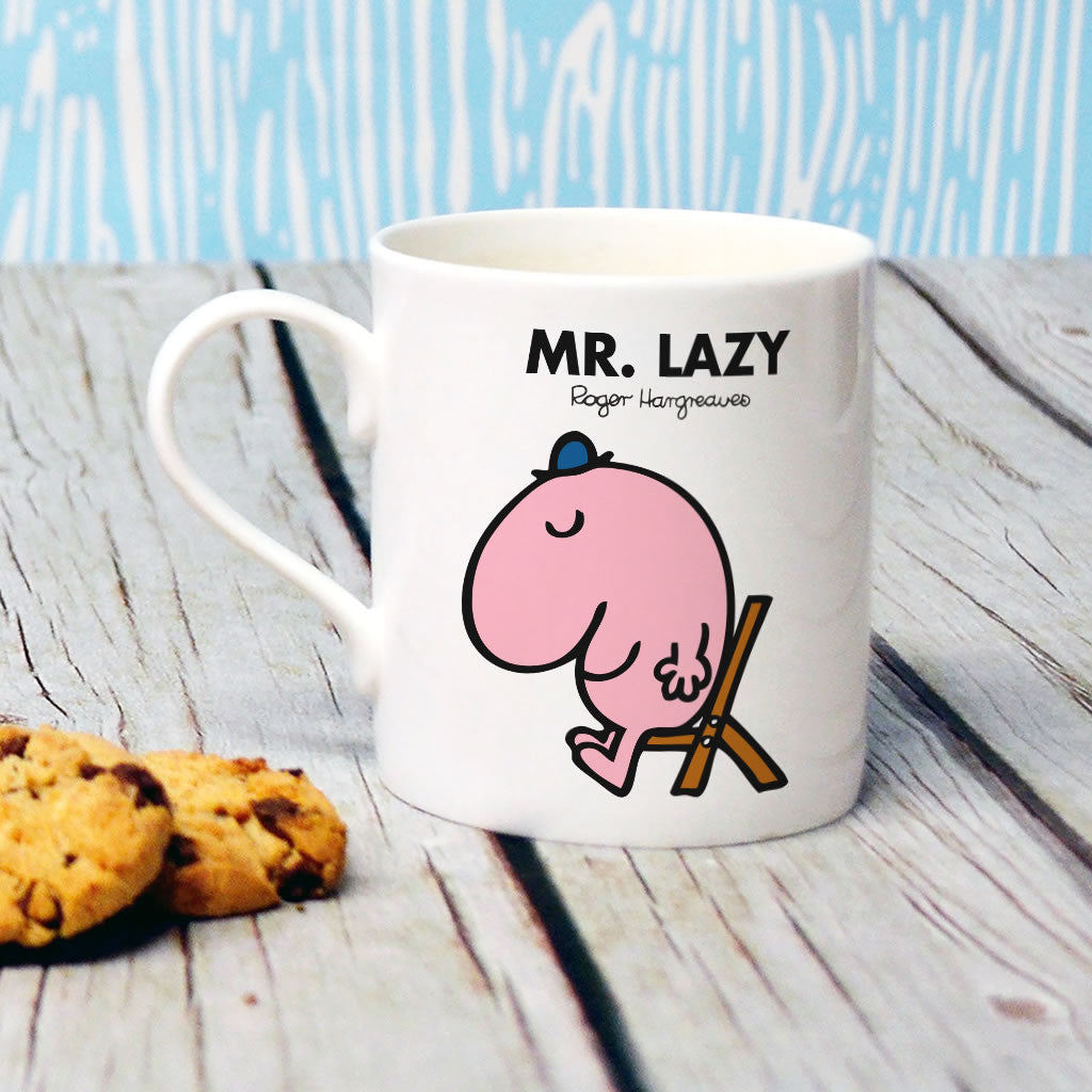 Mr. Lazy Bone China Mug (Lifestyle)