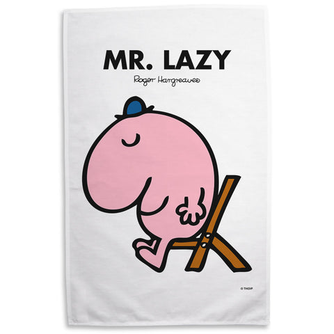 Mr. Lazy Tea Towel