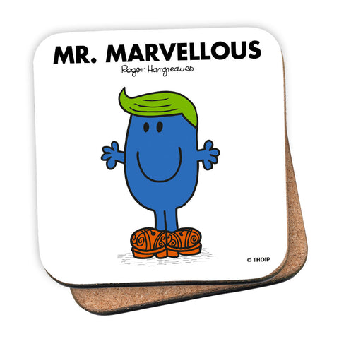 Mr. Marvellous Cork Coaster