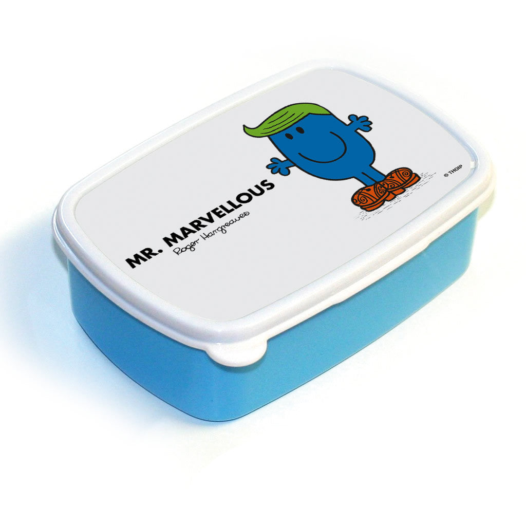 Mr. Marvellous Lunchbox (Blue)
