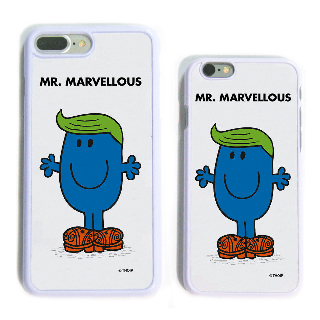 Mr. Marvellous White Phone Case
