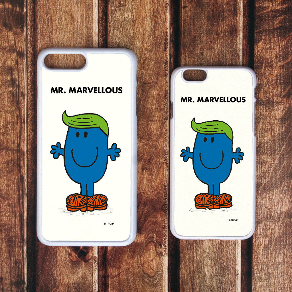 Mr. Marvellous White Phone Case (Lifestyle)