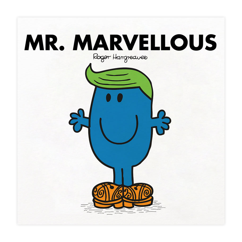 Mr. Marvellous Mounted Art Print