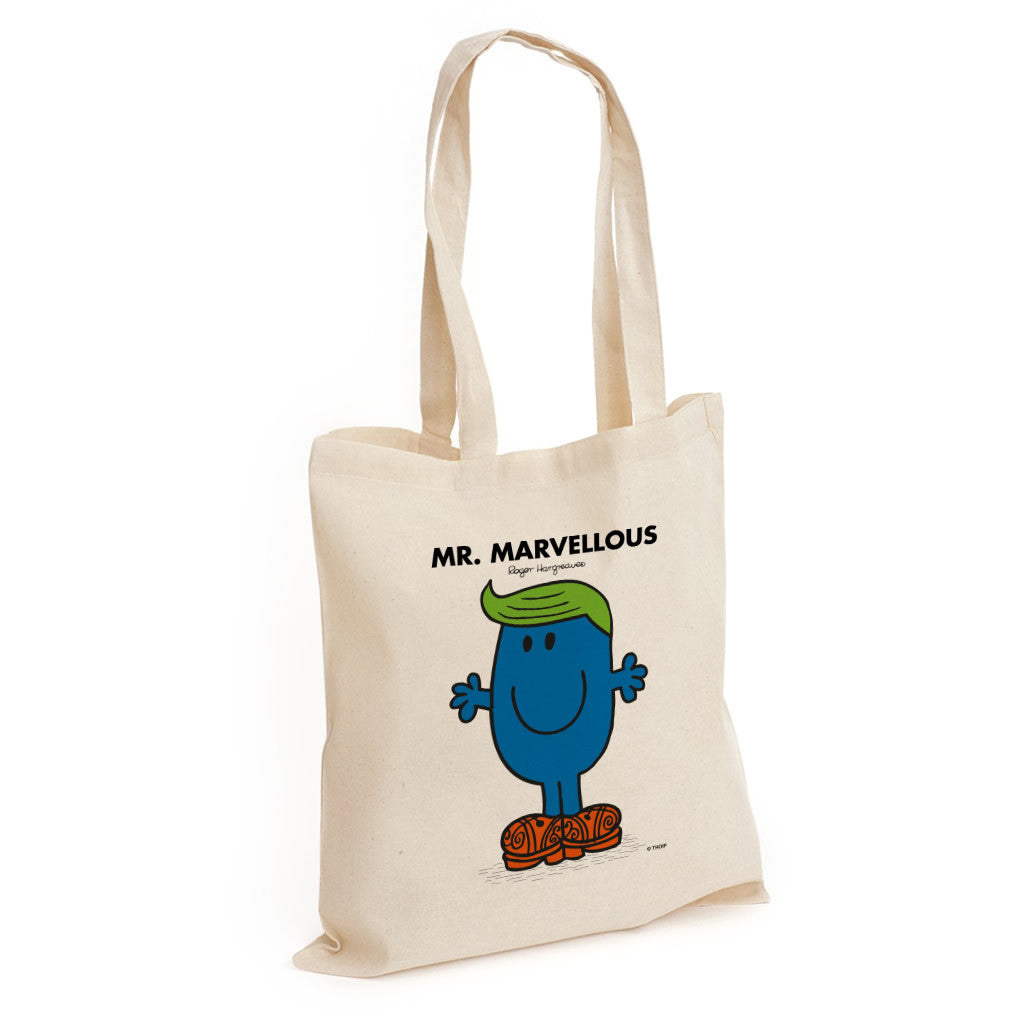 Mr. Marvellous Long Handled Tote Bag