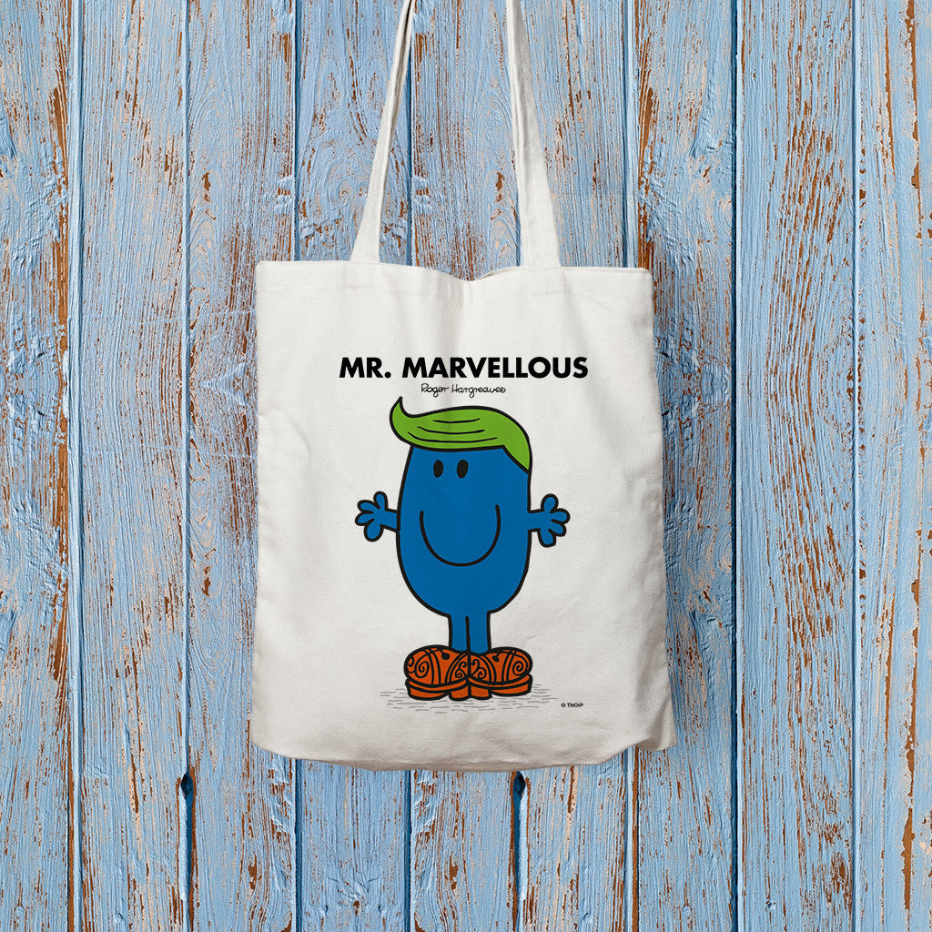 Mr. Marvellous Long Handled Tote Bag (Lifestyle)