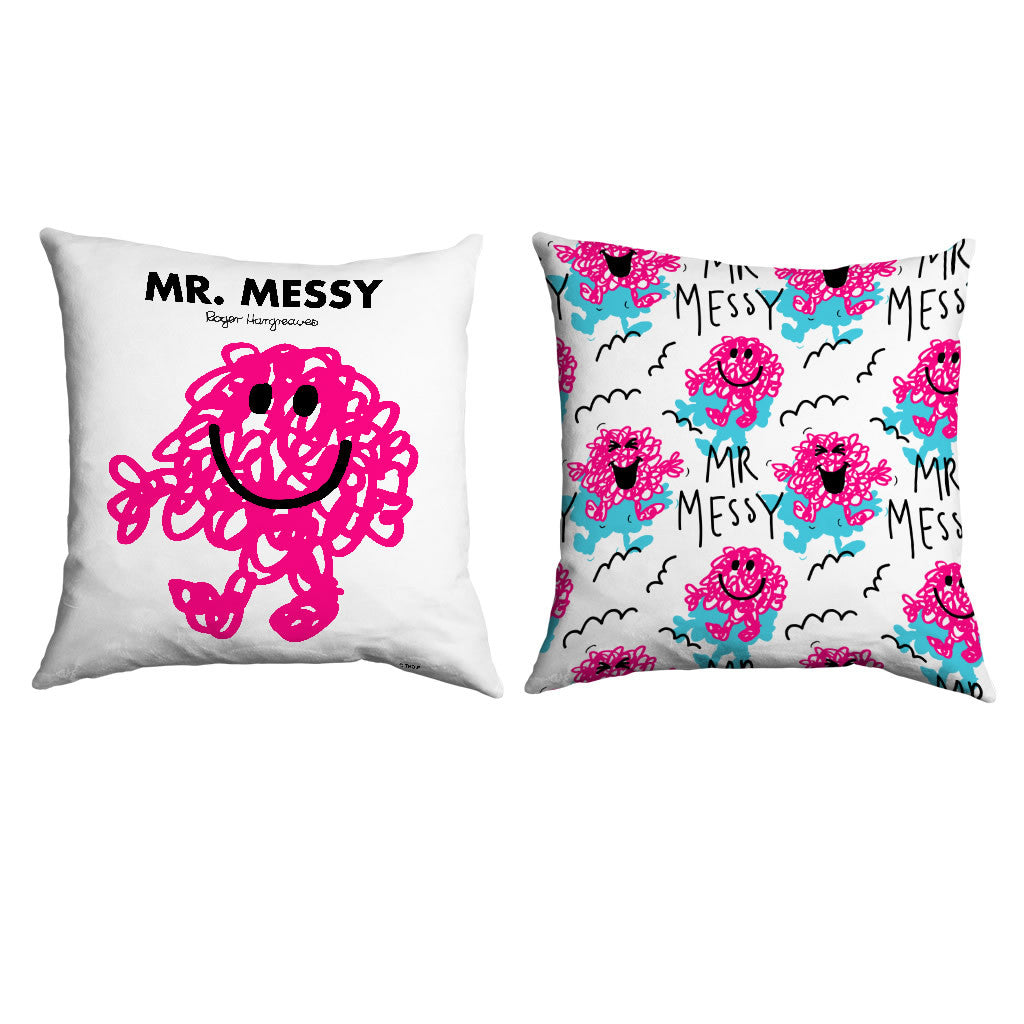 Mr. Messy Micro Fibre Cushion